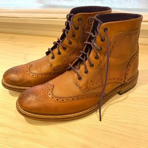 Ted Baker Brogue Lace Up Boot
